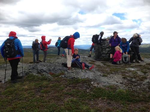 21. juni hadde Seniorgruppa tur på Raudalsfjellet