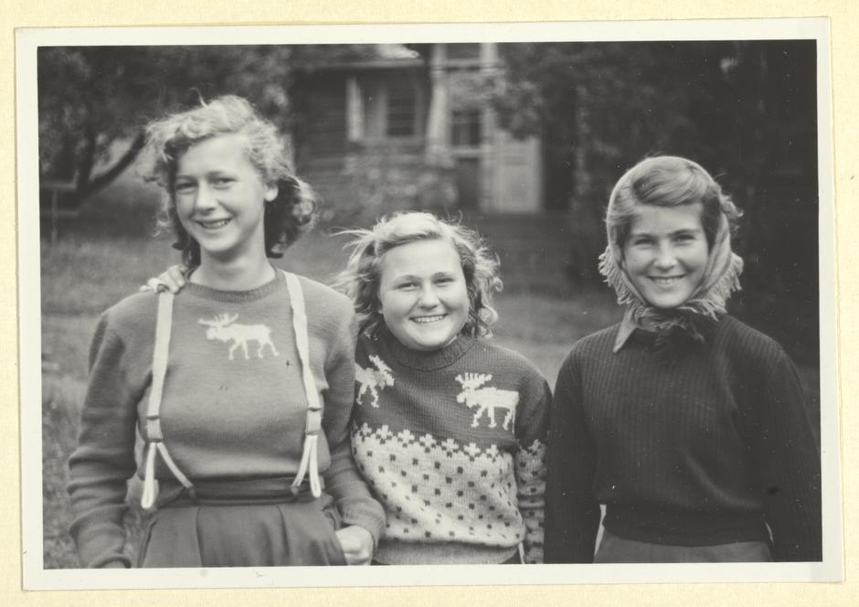 Turjenter fra 50-tallet.