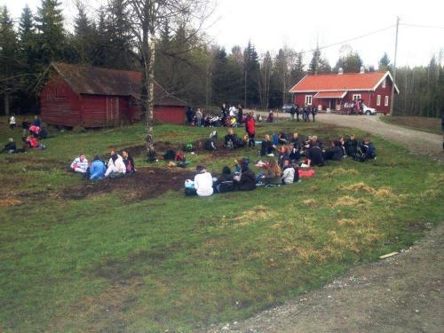 Aktiviteter på Nedre Gupu. Foto: Einar Skage Andersen