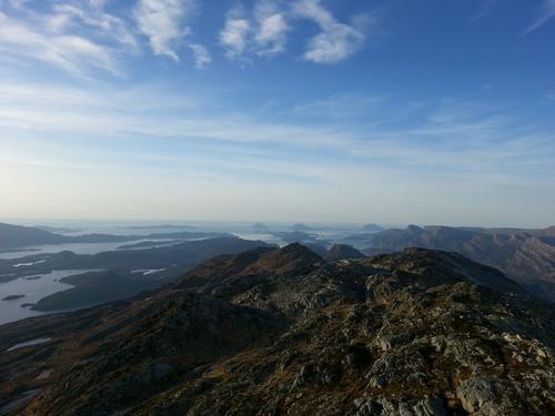 Blånipa, 1.021 moh
