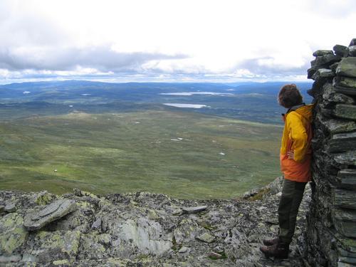 Vid utsikt i Langsua. Foto: Sveinung Tubaas