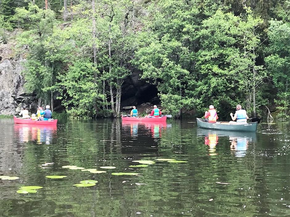 Kanotur på Gjersjøen