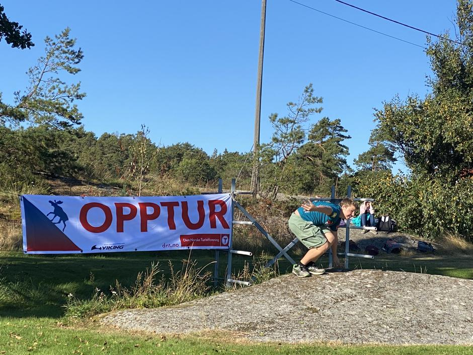 Tjodalyng skole på Opptur 2021.