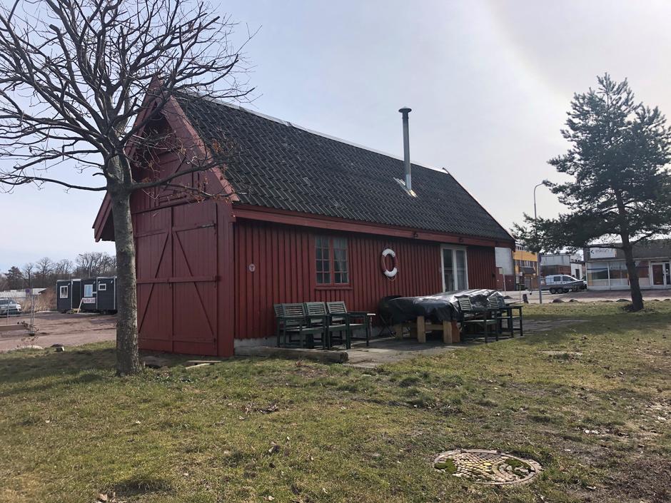 Klubbhuset til kajakkfolket i DNT Horten