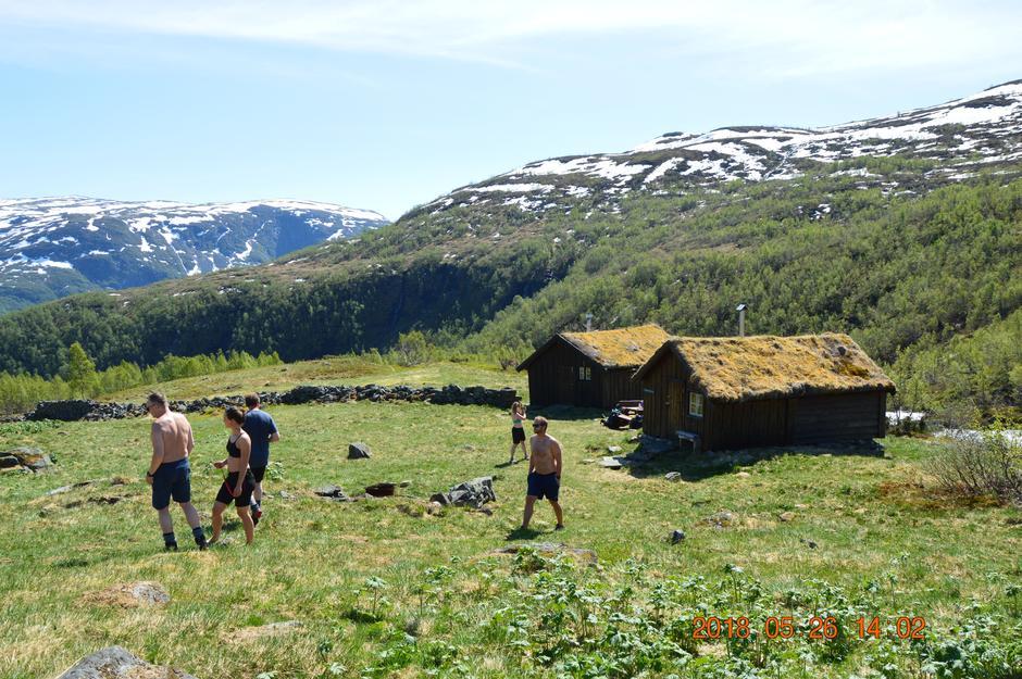 Tur til Gravdalen, turlagshyttene til Årdal Turlag