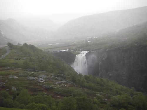 Ryganfossen ved Åse i Årdal