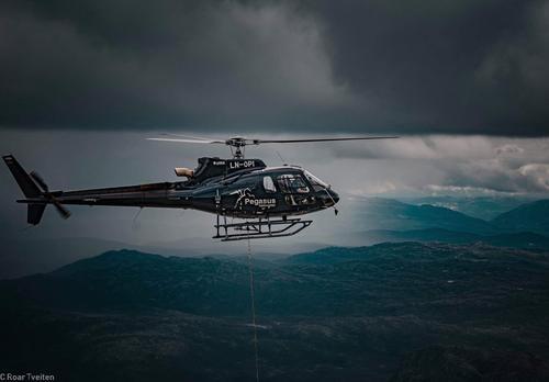 Pegasus helikopter leverer