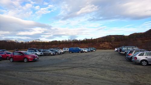 Den store parkeringsplassen