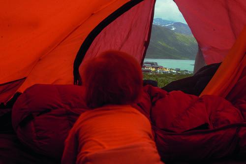 Den første telturen