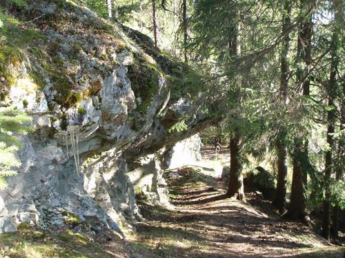 Lillomarka, ved Trollvann og Uteliggerhytta