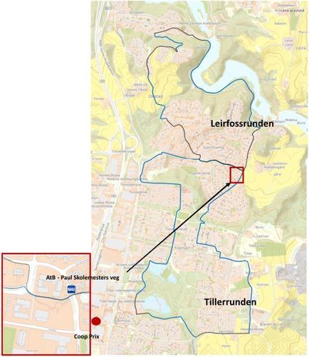 Nå  åpner  to  nye  turstier  i  Trondheim