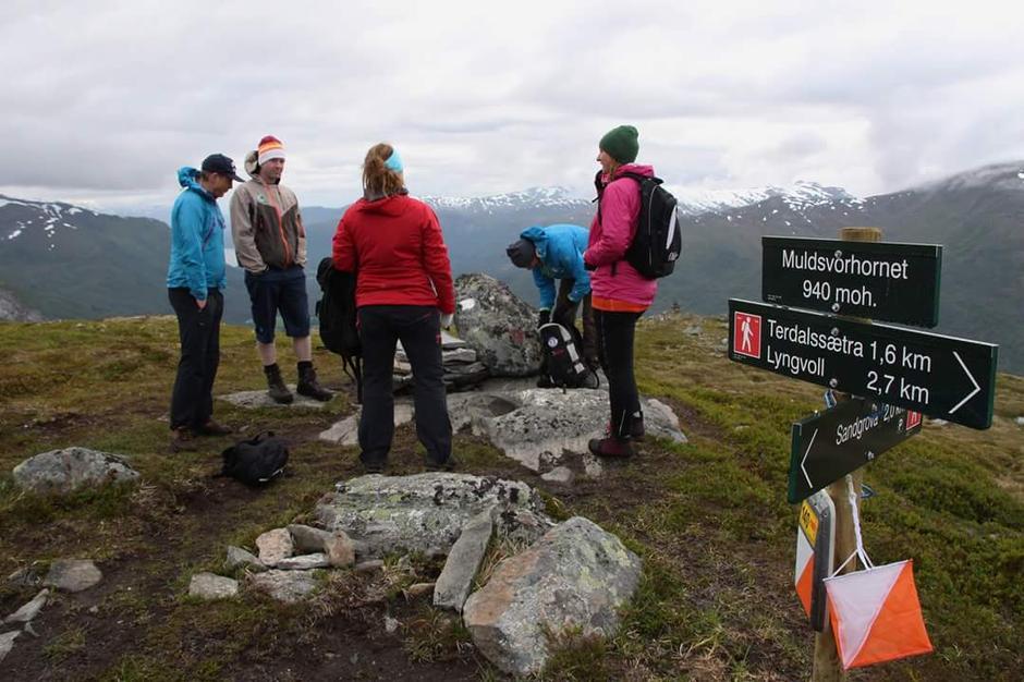 06.07.2016 - Tur til Muldsvorhornet,Hornindal.