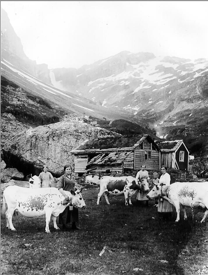 På Ossete har det vore støling i fleire hundre år.