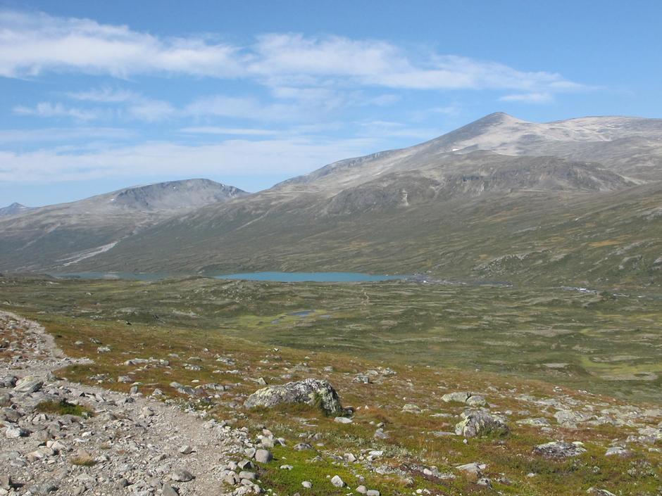Landskap ved Russvatnet