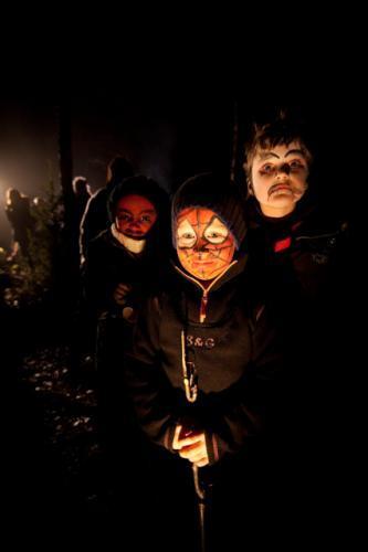 Halloween i skogen 2009