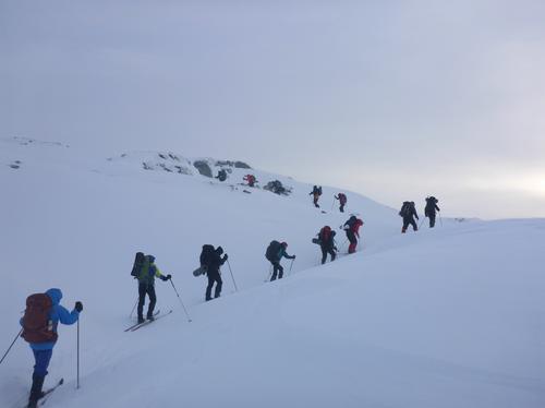 Frå fjorårets vintertur til Gullhorgabu