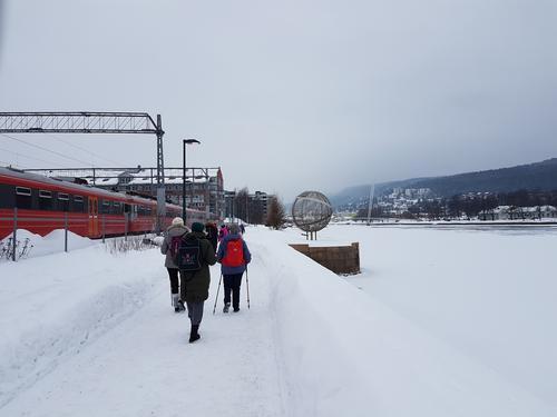 Tur langs Drammenselva