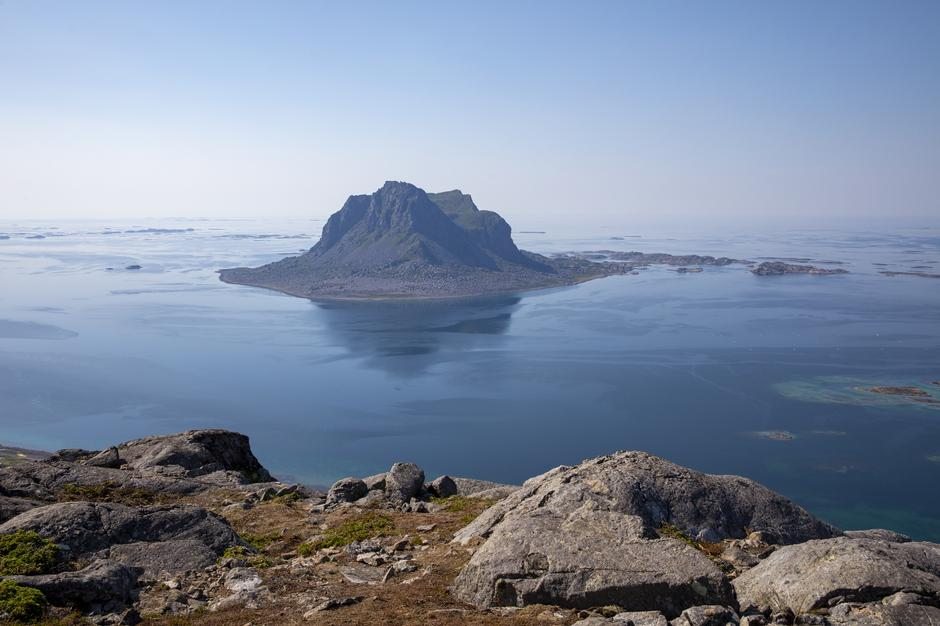 Utsikt fra Ramnfloget mot Søla