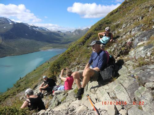17. til 19. august hadde Seniorgruppa tur til Gjende og Besseggen