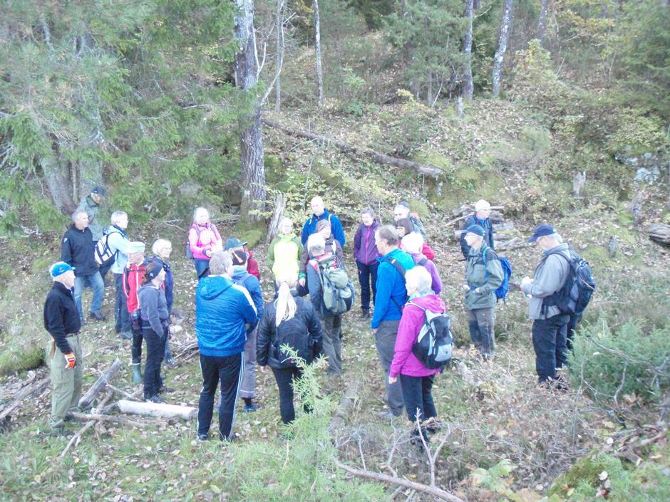 Søndagstur på Fantestien med Larvik og Omegns Turistforening, 8. oktober 2017.