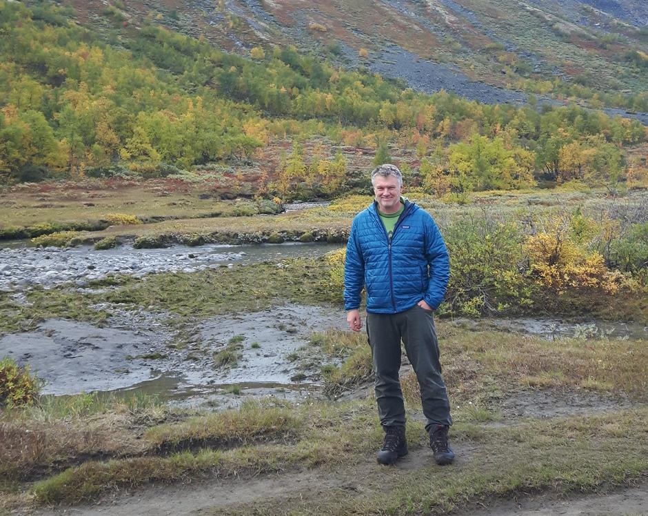 Richard Høyberg, sommerturleder