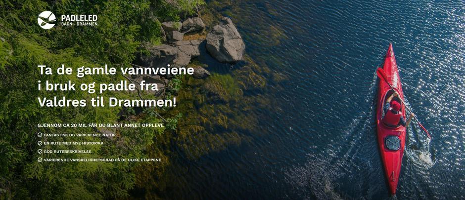 Padleleden Bagn–Drammen.