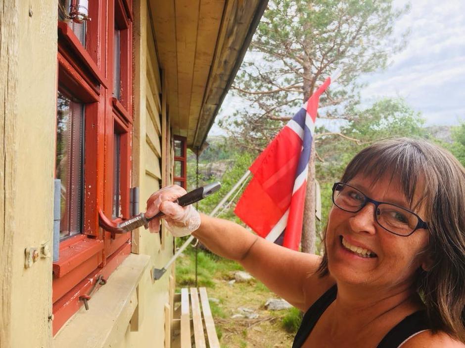 Margrethe friskar opp listene på Kalvedalshytta