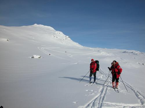 Frå ein tur Valdres Tur- og Fjellsportlag hadde mot Tomashelleren i Vang i 2005.