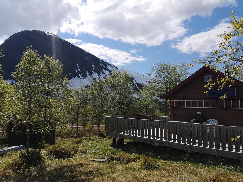 Flott utsikt mot Herjevatnet og Tarløysa.
