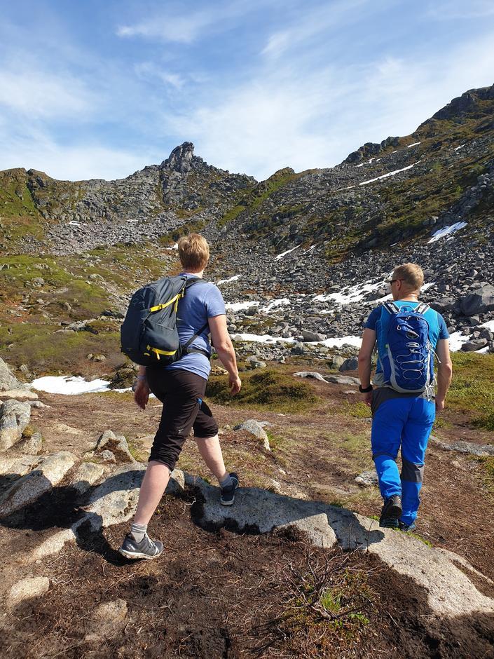 Tur til Frosken og Fløya