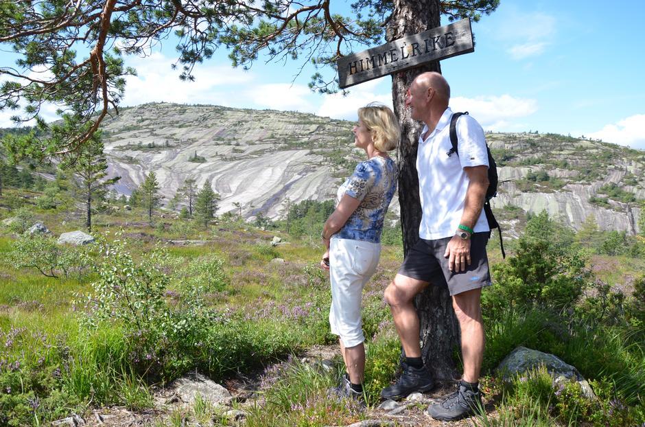 Himmelriket (blåmerket av Gautefall turlag) er en av turene som skal bli med i samlingen 150 hverdagsturer.