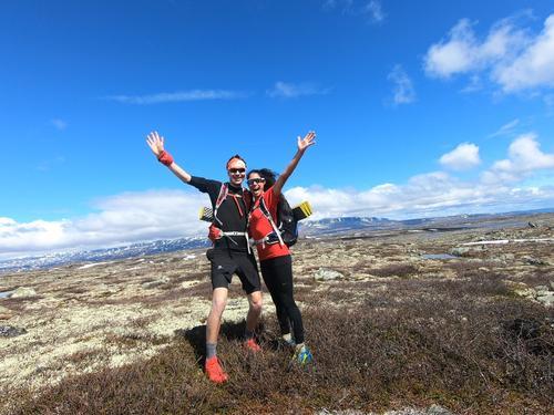 Løpelederne Maria og Frederik Emil