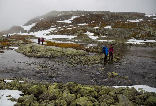 13. oktober hadde DNT Ung Valdres tur til Tomashelleren