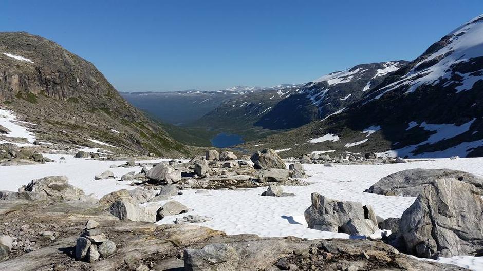 Utsikt over til dølene- mot Skjåk