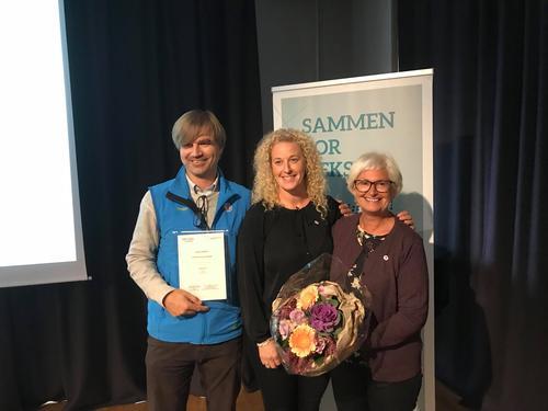 DNT Drammen og Omegn vant serviceprisen 2018