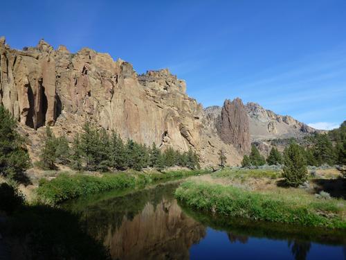 Smith Rock - klatre eldorado i Oregon
