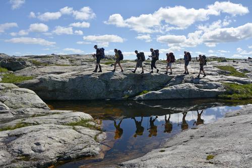 GRAUTHELLER NESTE: Med fire fjelldager til rådighet er rekkevidden stor og naturopplevelsen tilsvarende.