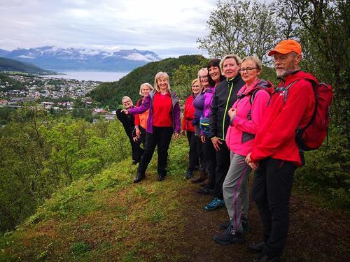 Rapport fra tirsdagstur: Rundtur Harstadåsen og Stien Langs Bergselva