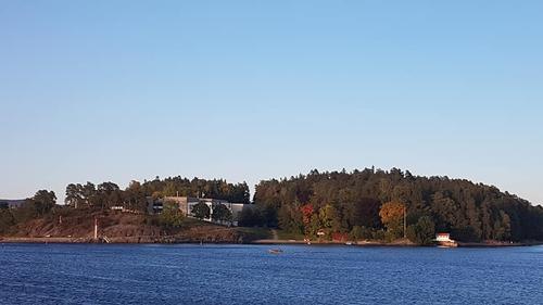 Utsikt fra Kalvøya