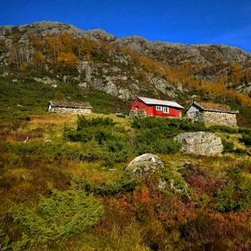 Hålandstølen i Frafjordheieine Foto Kåre Håland