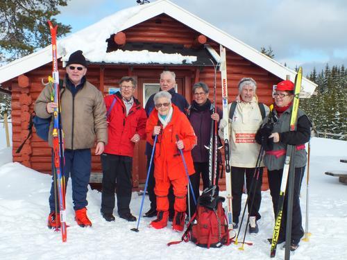 Tur til Vollkoia/Blåmyrkoia 09.03.16.