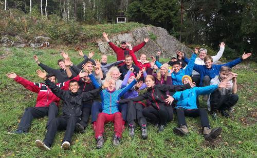 Basecamp på Trollsvann!