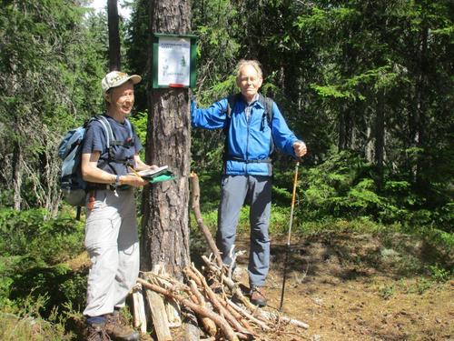Tur på Krokskogen