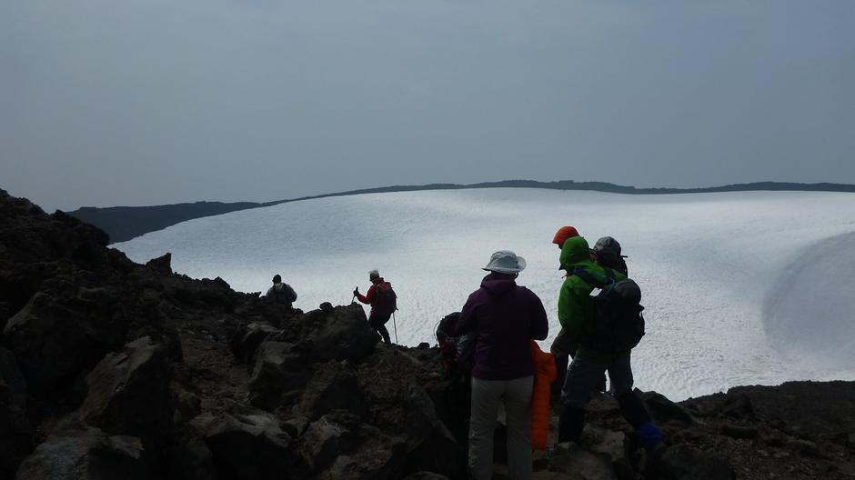 South Sister Crater, 3159m