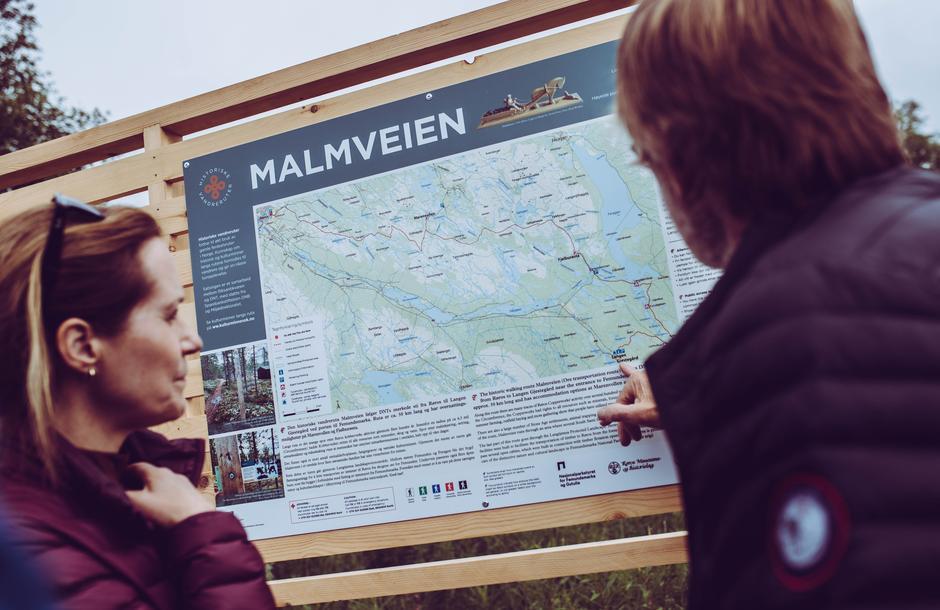 Lørdag 26. juni åpnet Malveien, den 14. historiske vandreruta.