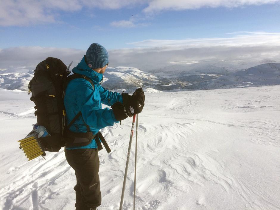 Utsikt fra Bergsbukken.