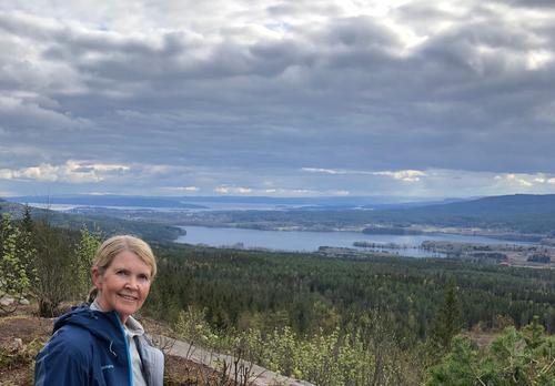 Utsikten fra Barlindåsen
