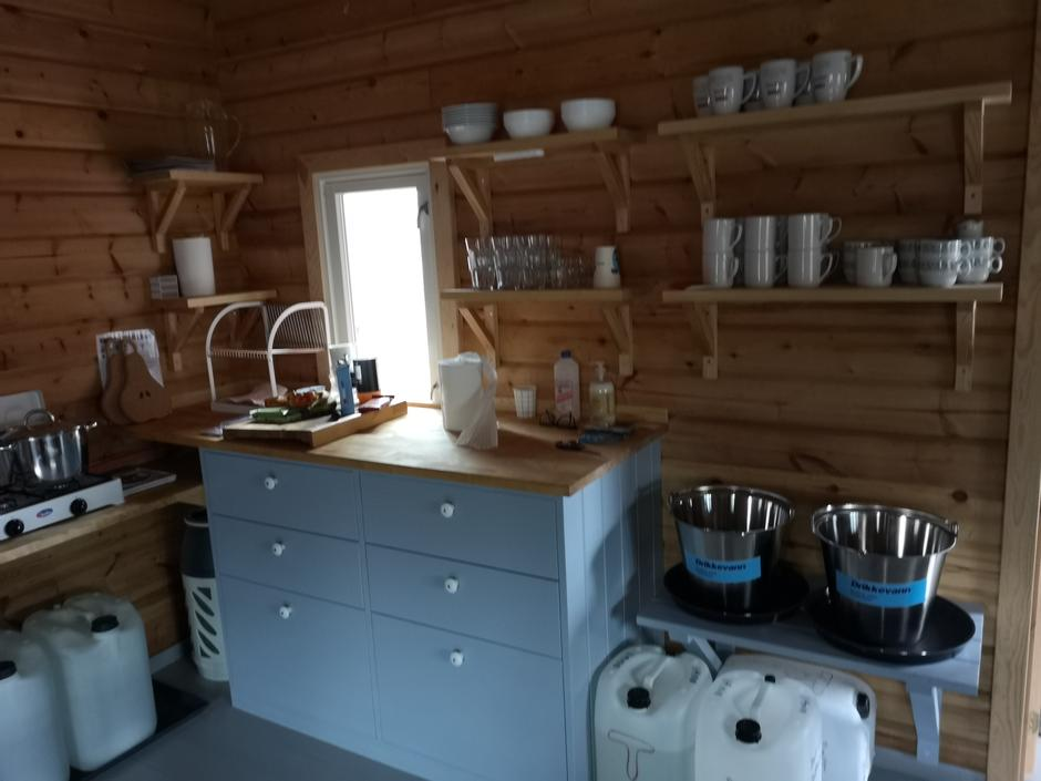 Nybygd kjøkken laget av Knut-Ivar Edvardsen