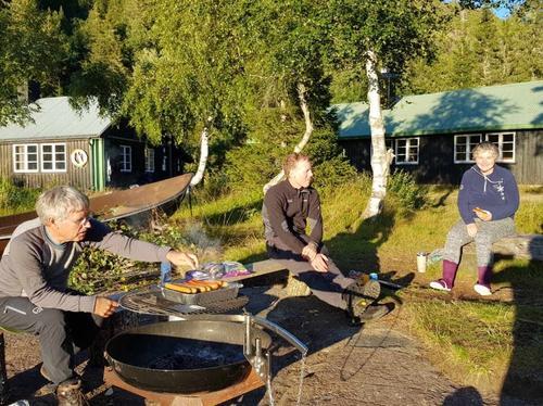Grilling ved Ivarsbu