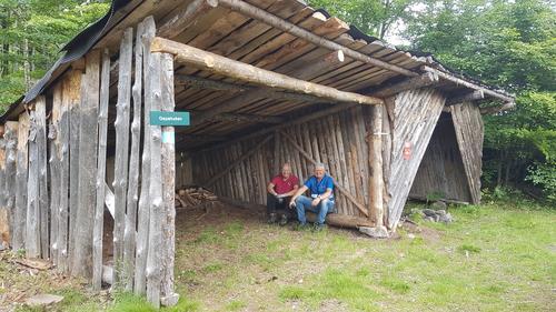 Gapahuken ved Kleivertjønna